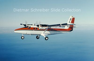 1974-12 D-IDCT DHC Dash 6-300 Twin Otter (c/n 437) OLT