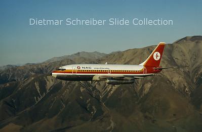 1975-02 ZK-NAC Boeing 737-219 (c/n 19929) NAC