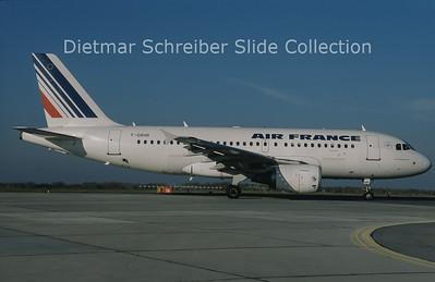 2010-11 F-GRHR Airbus A319-111 (c/n 1415) Air France