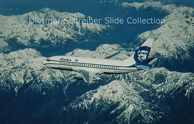 N730AS Boeing 737-290C (c/n 22577) Alaska Airlines