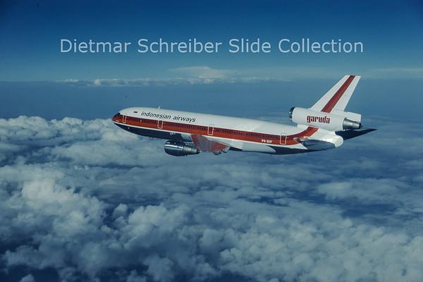 1979-08 PK-GIF MDD DC10-30 (c/n 46686) Garuda Indonesia