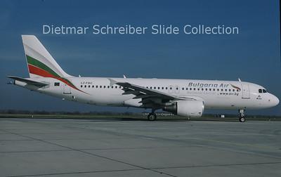 2010-11 LZ-FBC Airbus A320-214 (c/n 2540) Bulgaria Air