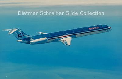 N210AA MDD MD82 (c/n 49161) American Airlines