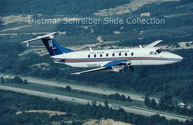 1985-09 N331CJ Beech 1900 Colgan Airways