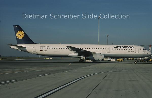 2010-11 D-AISU Airbus A321-231 (c/n 4016) Lufthansa