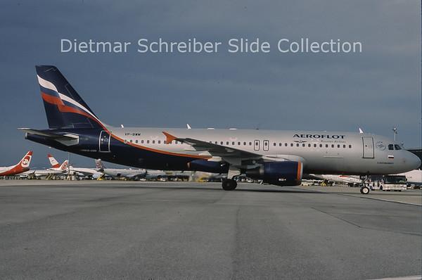 2010-11 VP-BWM Airbus A320-214 (c/n 2233) Aeroflot