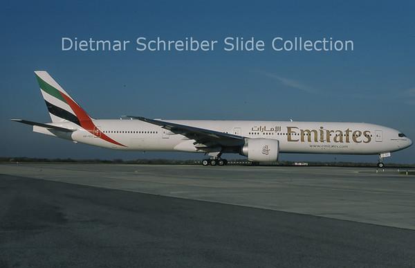 2010-11 A6-ECI Boeing 777-31HER (c/n 35580) Emirates