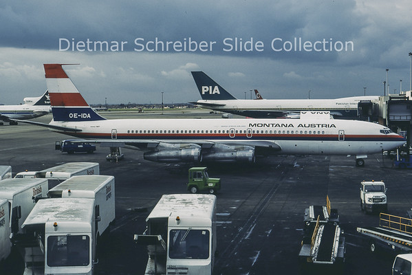 1981-03 OE-IDA Boeing 707-396C (c/n 20043) Montana Austria
