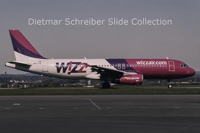 2010-04 HA-LPX Airbus A320-232 (c/n 3968) Wizzair