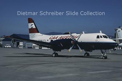 1990-07 OE-BAZ Gulfstream 1 (c/n 23) Austria - Bundesamt für Zivilluftfahrt