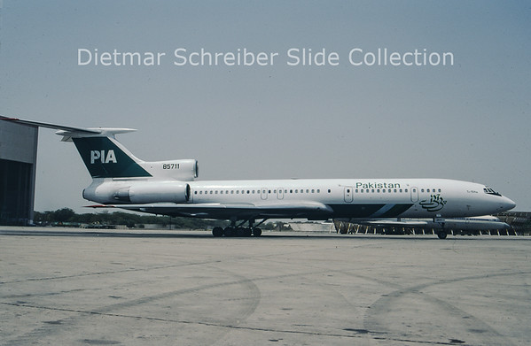 1997-05 85711 Tupolev 154M (c/n 887) Pakistan Airlines