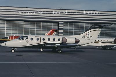 2010-12 OE-GFB Beech 400A Beechjet (c/n RK-84) Europstar