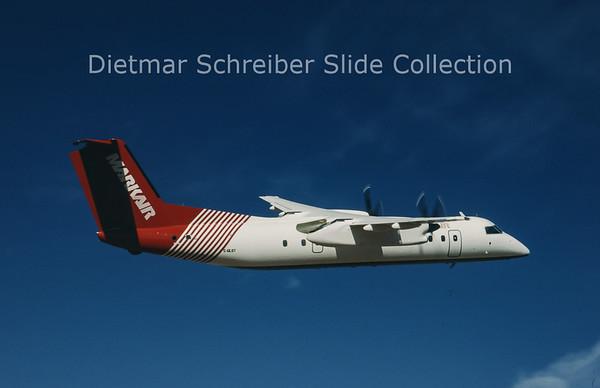 1990-10 C-GLOT Bombardier Dash 8-102 (c/n 19) Markair
