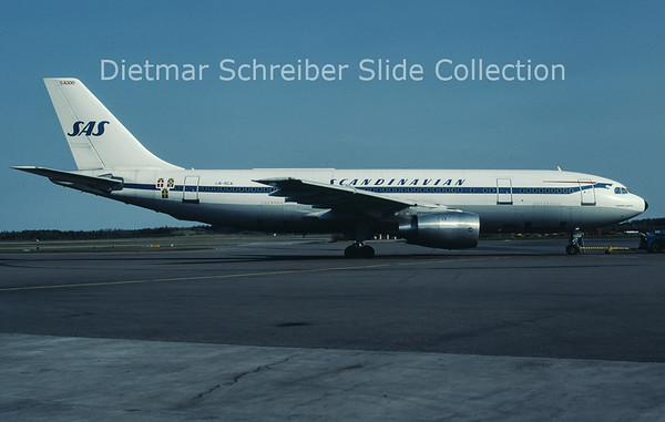 LN-RCA Airbus A300B2-320 (c/n 079) SAS Scandinavian