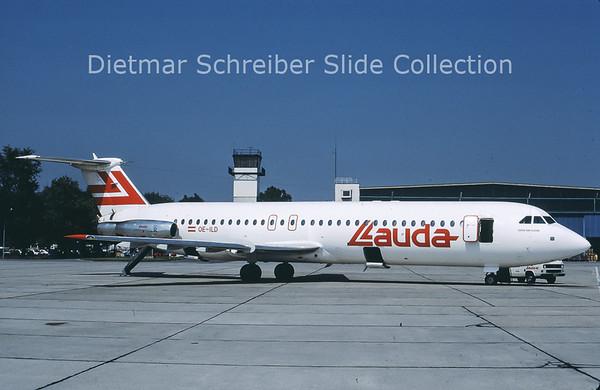 1985-08 OE-ILD BAC 1-11-419EP (c/n 120) Lauda Air
