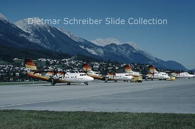 OE-LLS DHC Dash 7-100 (c/n 022) Tyrolean Airways