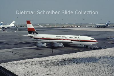 1979-08-26 OE-INA Boeing 707-138B (c/n 18069) Montana Austria