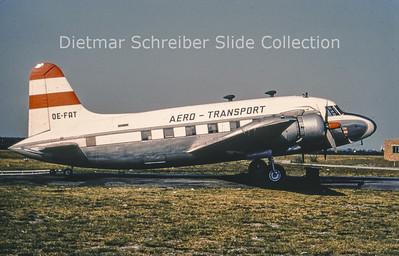 OE-FAT Vickers 657 Viking 1 (c/n 109) Aerotransport