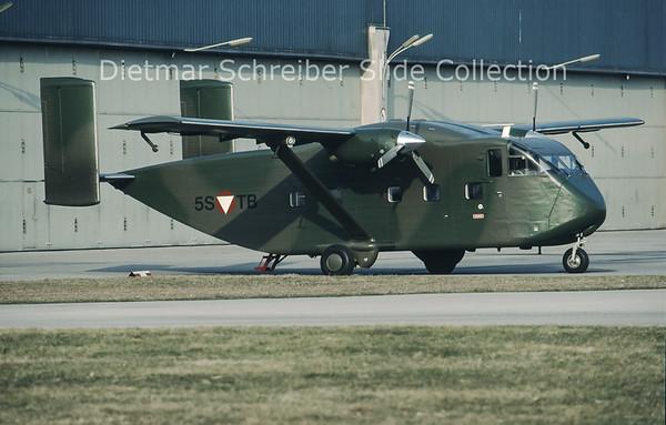 5S-TB Shorts SC7 Skyvan Austrian Air Force