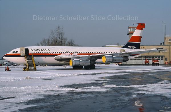 1976-02 OE-IRA Boeing 707 Montana Austria