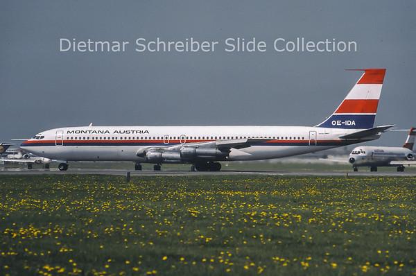 1979-06 OE-IDA Boeing 707-396C (c/n 20043) Montana Austria