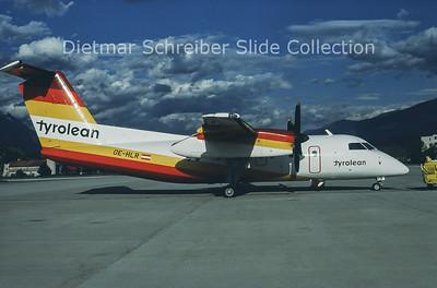 1985-09 OE-HLR Bombardier Dash 8-102 (c/n 010) Tyrolean Airways