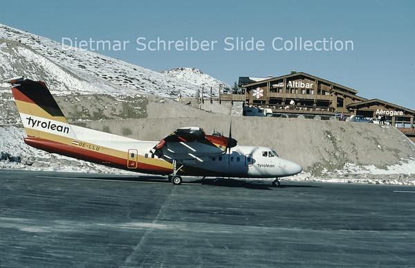 1990-01 OE-LLU Dash DHC7 Tyrolean Airways