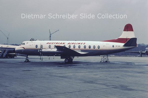 OE-LAH Vickers Viscount Austrian Airlines