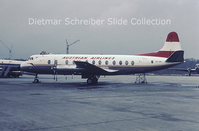 OE-LAH Vickers Viscount Austrian Airlines