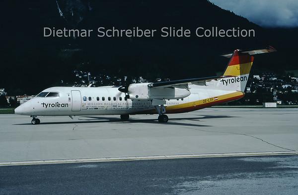 OE-LTF Bombardier Dash 8-311 (c/n 423) Tyrolean Airways