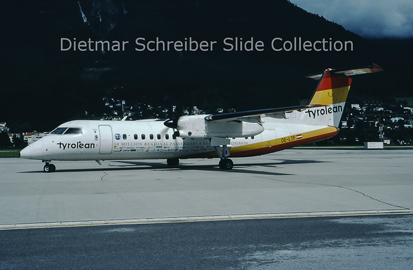 OE-LTF Dash DHC8-300 Tyrolean Airways