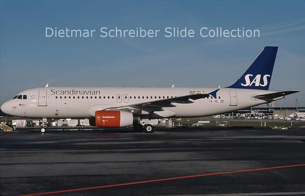 2013-01 OE-IBL Airbus A320-232 (c/n 2911) SAS Scandinavian