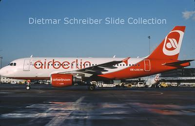 2013-01 OE-LOC Airbus A319 Flyniki