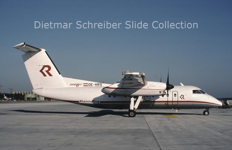 OE-HRS Dash DHC8-100 Rheintalflug