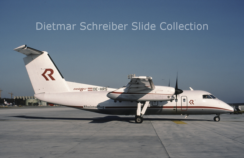 OE-HRS Bombardier Dash 8-102 (c/n 175) Rheintalflug