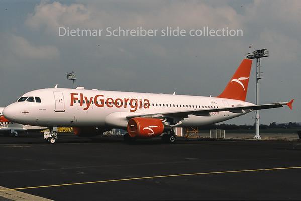 2013-04 OE-ICC Airbus A320 Fly Georgia