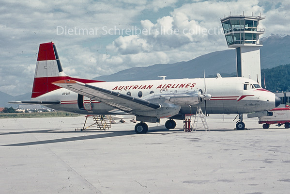 OE-LHT Hawker Siddely 748 Austrian Airlines
