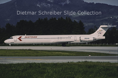 1995-05-28 OH-LMP MD80 Austrian Airlines