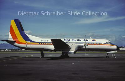 N112MP NAMC YS11A-301 (c/n 2105) Mid Pacific Air