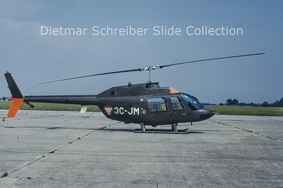 1973-08 3C-JM Bell 206 Austrian Air Force
