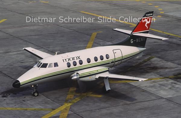 1991-05 G-WENT Bae Jetstream 31 (c/n 838) Manx Airlines