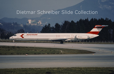 1992-02-29 oE-LDZ MD80 AUstrian AIrlines