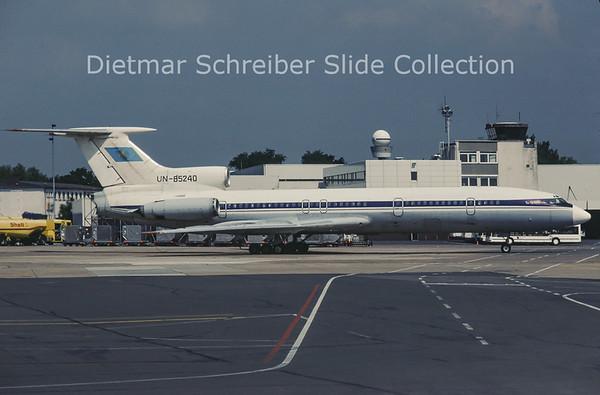 1993-03 UN-85240 Tupolev 154 Air Kazakstan