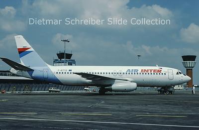 F-BTTD Dassault Mercure Air Inter