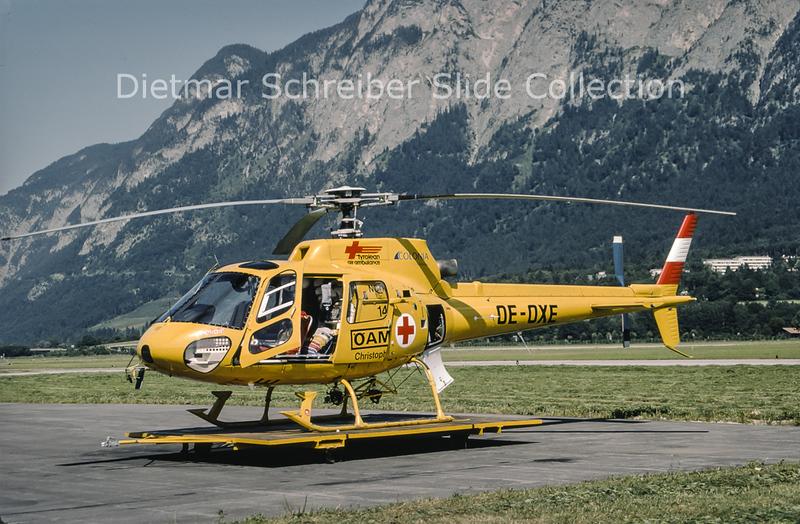 1990-07-27 OE-OXE Eurocopter AS350 Heli Air