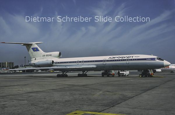 1993-04 UN-85240 Tupolev 154 Air Kazakstan