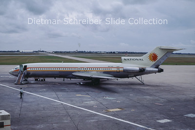 1968-10 N4740 Boeing 727-200 National Airlines