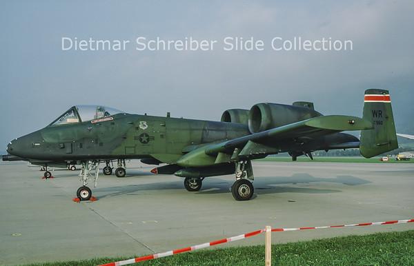 1988-10 81960 Fairchild Republc A10 United States Air Force