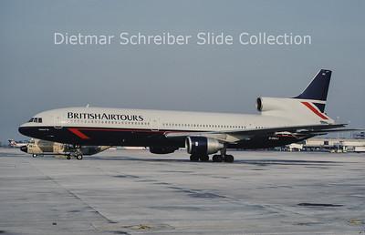 1986-02 G-BBAJ Lockheed L1011 Tristar British Airtours