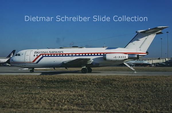 1987-02 G-AXOX BAC 1-11 British Airways